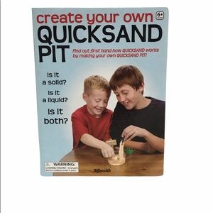 VTG Create A Sand Pit set Game Science Kids Unique Rare Find Gift